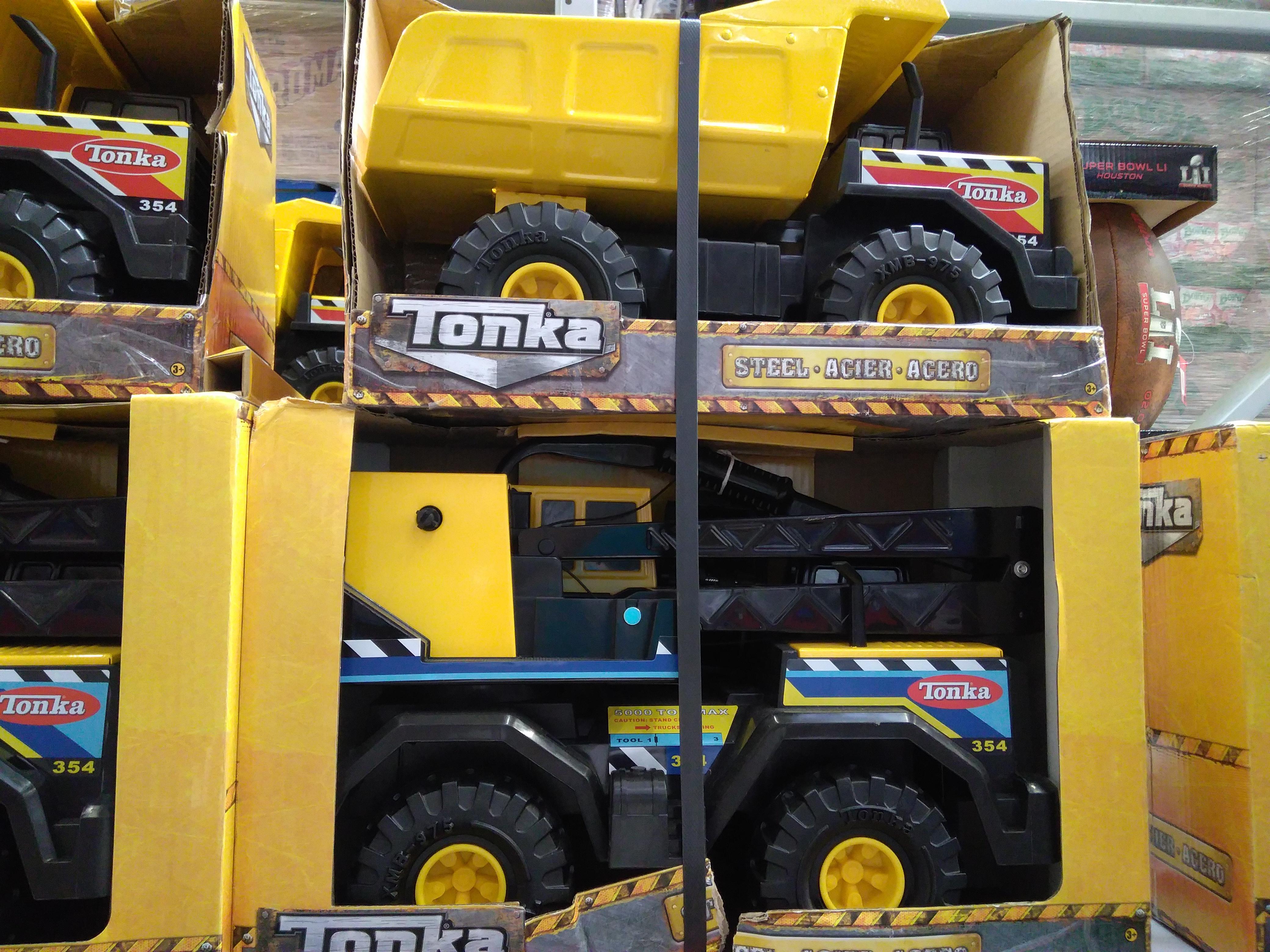 Sam's Club Jiutepec: 2 camiones Tonka de $1,299 a $699
