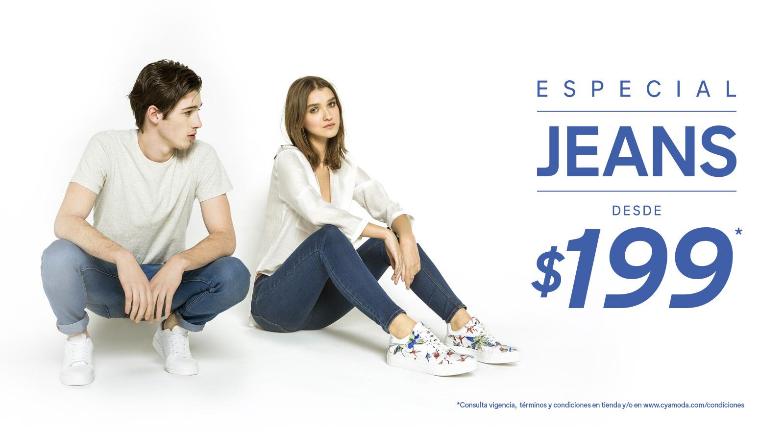 C&A: Venta Especial de Jeans desde $199
