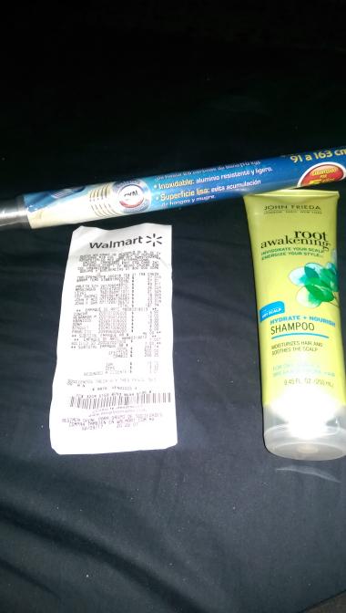 Walmart sufragio efectivo CD Obregón: shampoo y acondicionador John frieda