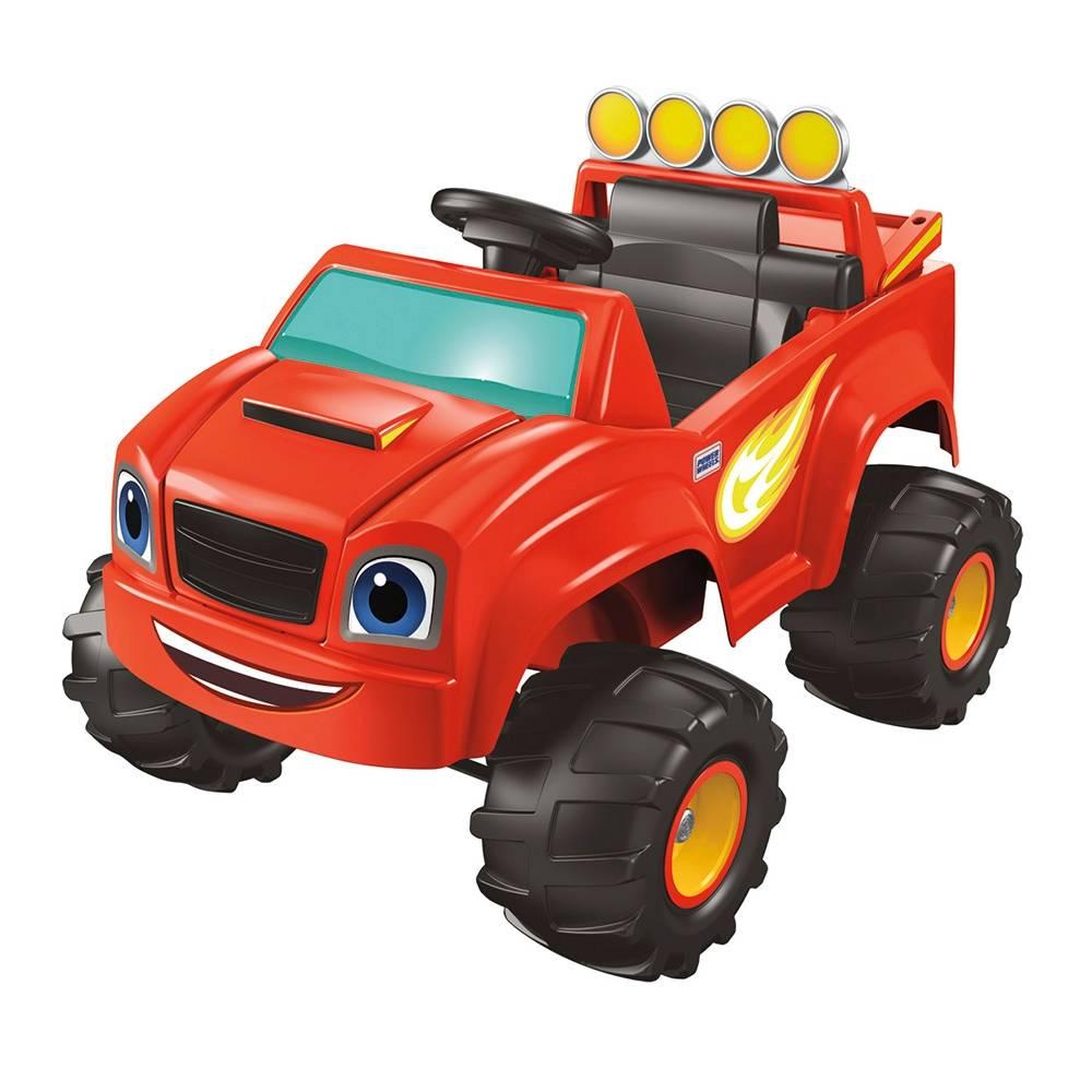 Walmart: Auto Montable Eléctrico Power Wheels - Blaze and the Monster Machines