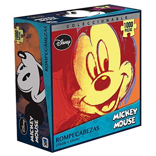Amazon: Rompecabezas de 1000 piezas (Mickey Mouse - Pink Floyd - AC-DC, y más)