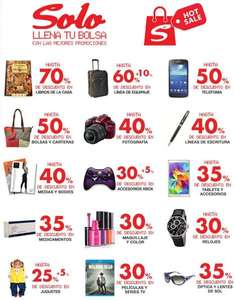 Ofertas de Hot Sale México 2014 en Sanborns