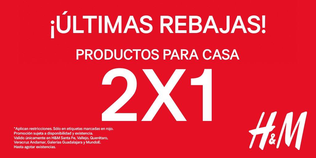H&M: 2x1 en artículos seleccionados para casa rebajados