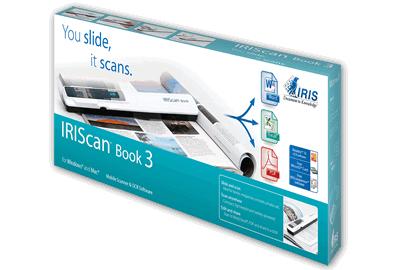 Liverpool: IRIScan Book 3 - Scaner portatil