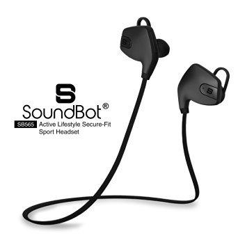 Amazon: audífonos Bluetooth Headset for iPhone 6/6 plus, Samsung Galaxy S7 - Black