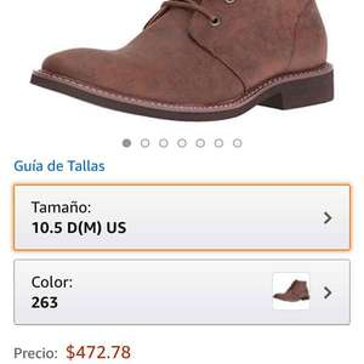 Amazon: botas Guess para hombre a un precio increíble
