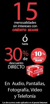 Ofertas de Hot Sale México 2014 Sears