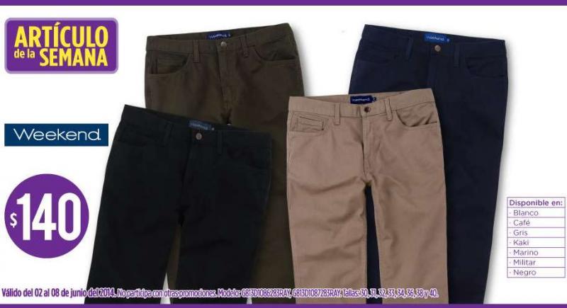 Suburbia: pantalones de hombre $140