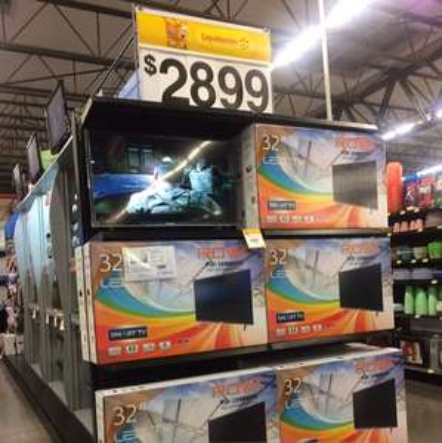 "Walmart: pantalla ROWA 32"" Smart TV"