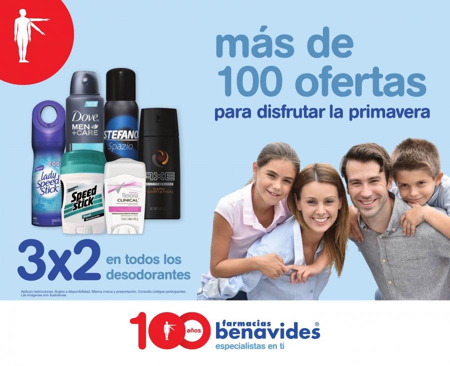 Farmacias Benavides: 3x2, 2x1 ahorros y mas...