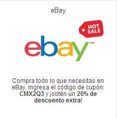 Ofertas de Hot Sale México 2014 en ebay (cupón de descuento)