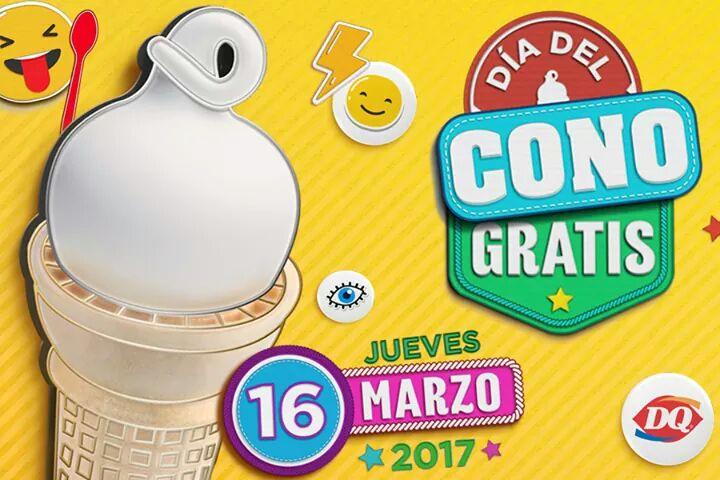 Dairy Queen: Día del cono gratis 2017 el 16 de marzo