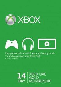 CD Keys: código de 14 días Xbox live (Solo para cuentas nuevas)
