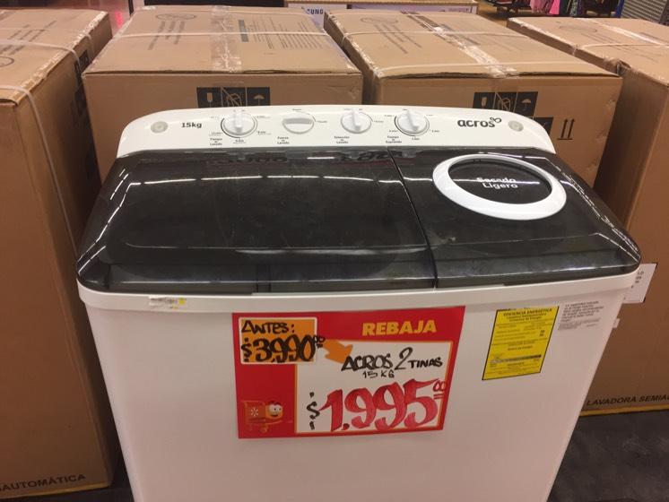 Walmart: Lavadora y secadora Across 2 tinas a $1,995