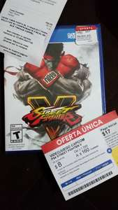 Coppel: Street Fighter V para PS4
