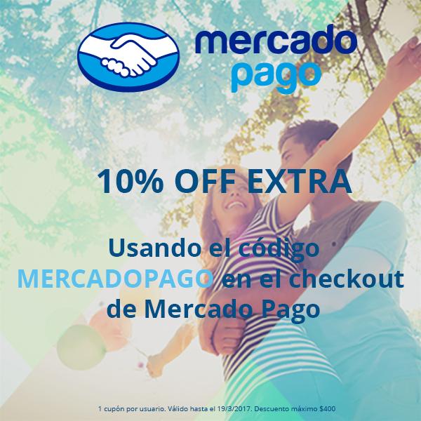 Groupon: 10% EXTRA con MercadoPago