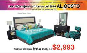 Muebles Dico: folleto `top 100´ de rebajas Al Costo