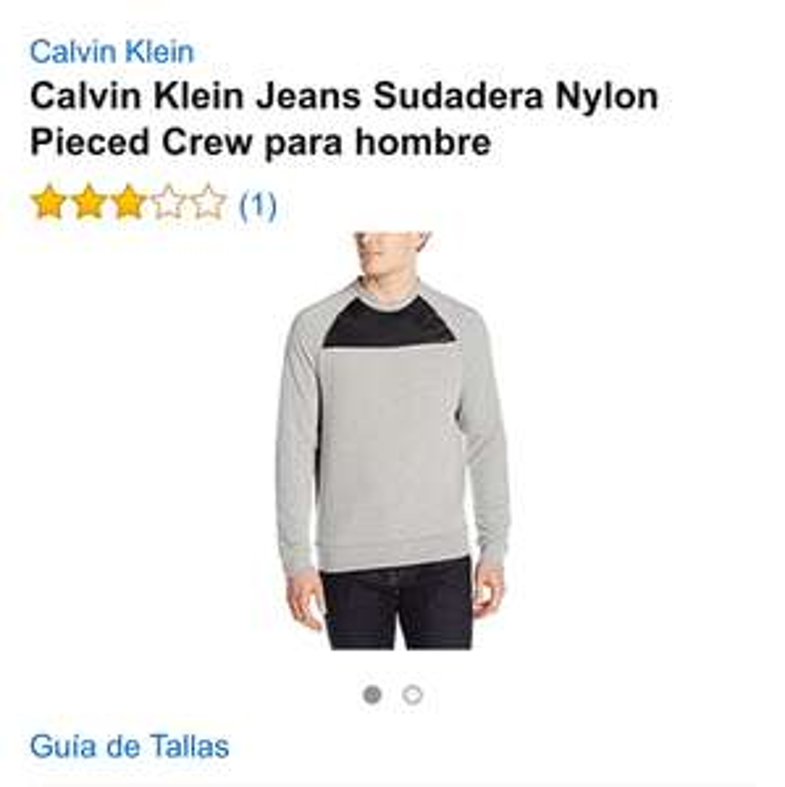 Amazon: Sudadera Calvin Klein