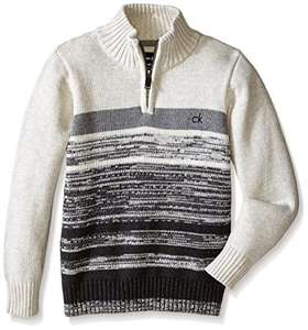 Amazon: Calvin Klein Little Boys Sweater