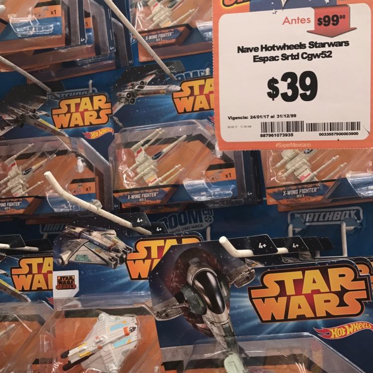 Chedraui Tenayuca: Naves Star Wars Hot Wheels