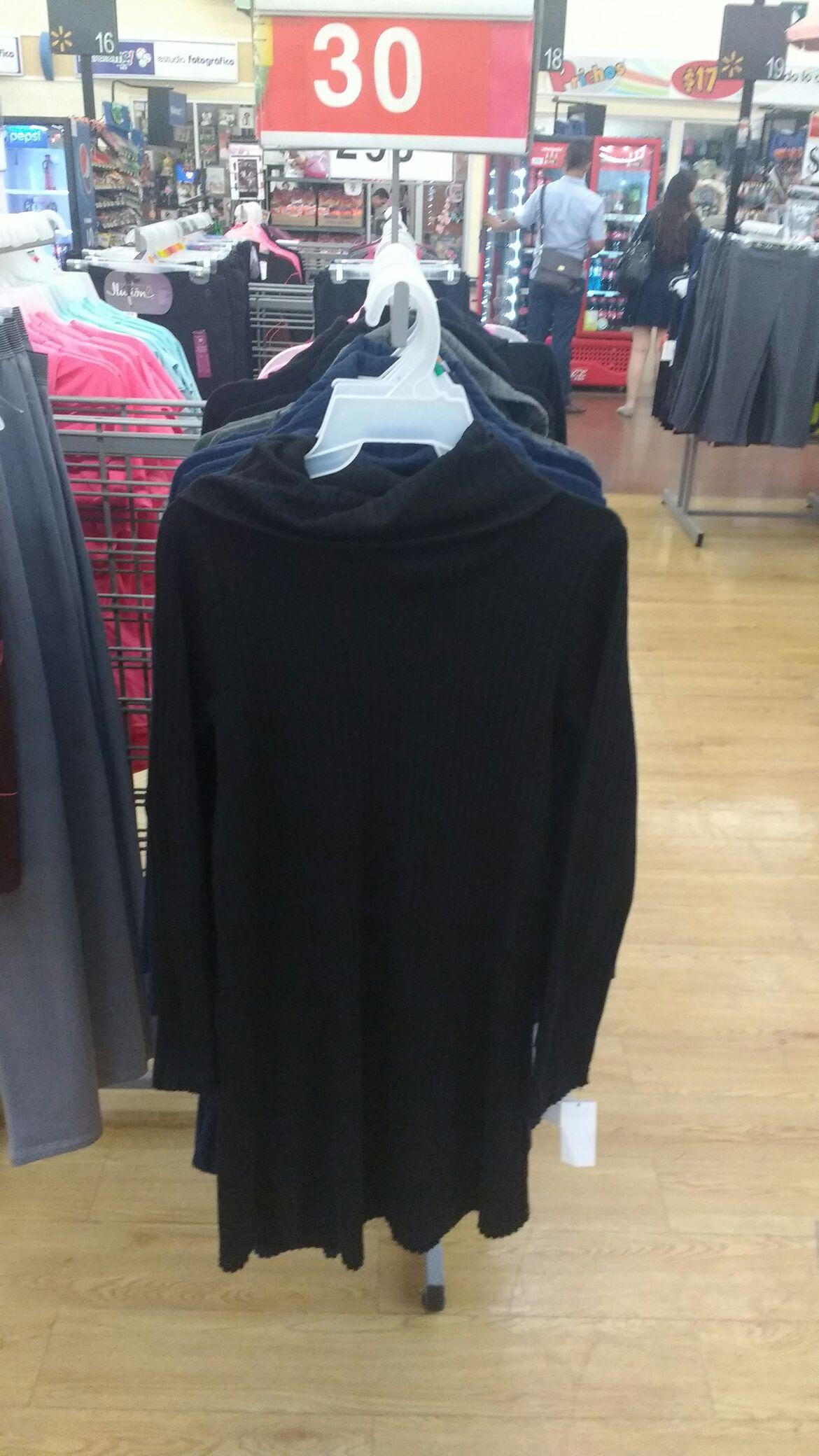 Walmart: Blusón de manga larga y cuello alto de $200 a $30.03