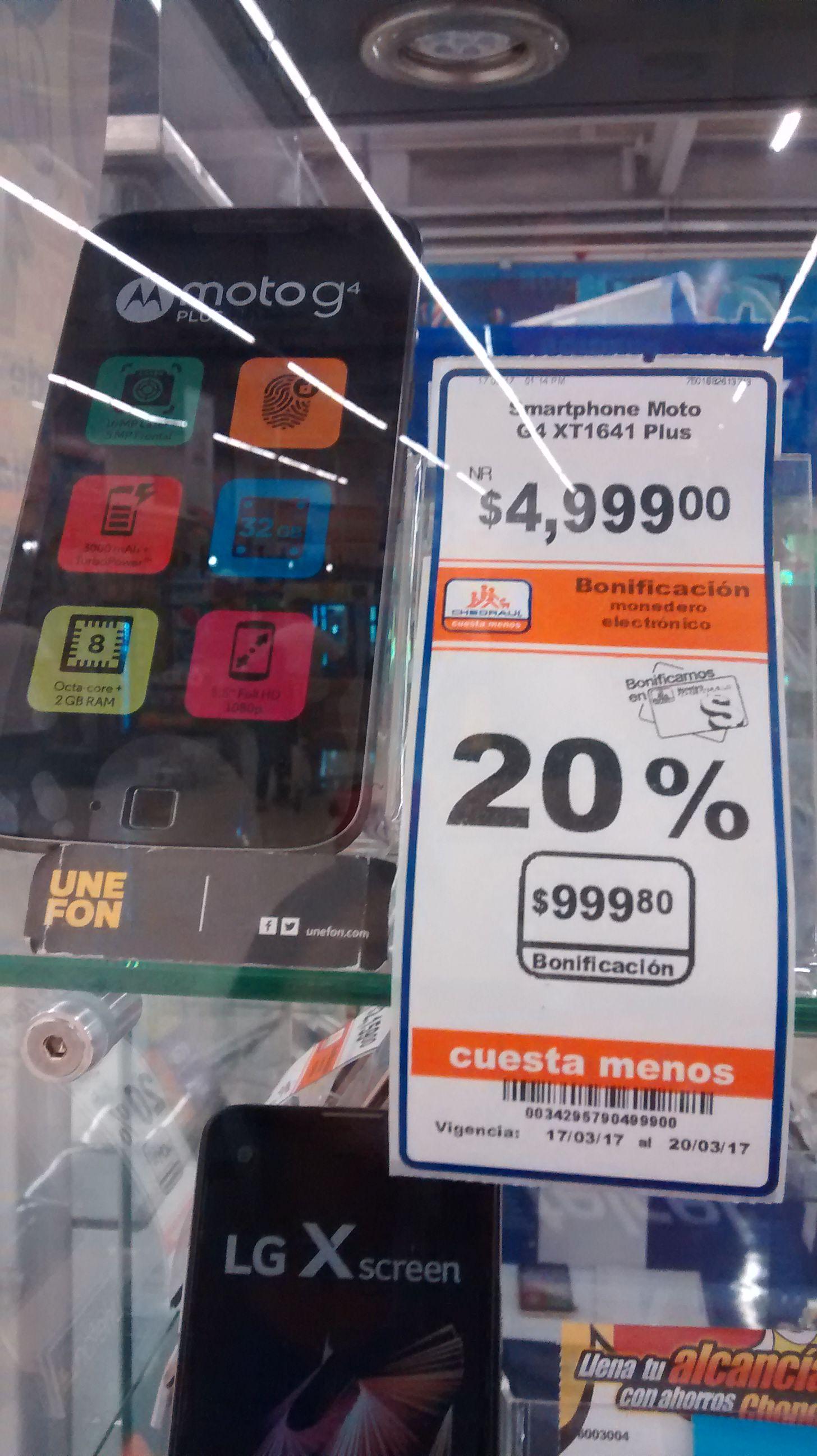 Chedraui Merida Itzaes: Moto G 4 Plus, focos led philips y otras ofertas