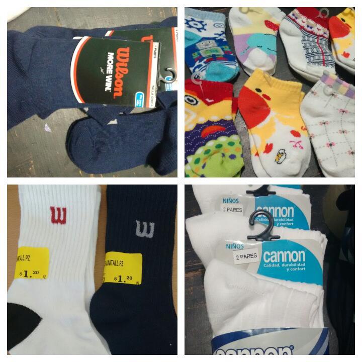 Mercado Soriana: Oferta en Calcetas, Calcetines, Tin de bebe, niña, niño con descuento