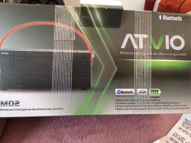 Walmart: Bocina  Bluetooth marca Atvio a $495.01
