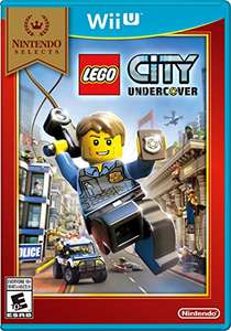 Amazon MX: Lego City Undercover Wii U (Nintendo Selects)