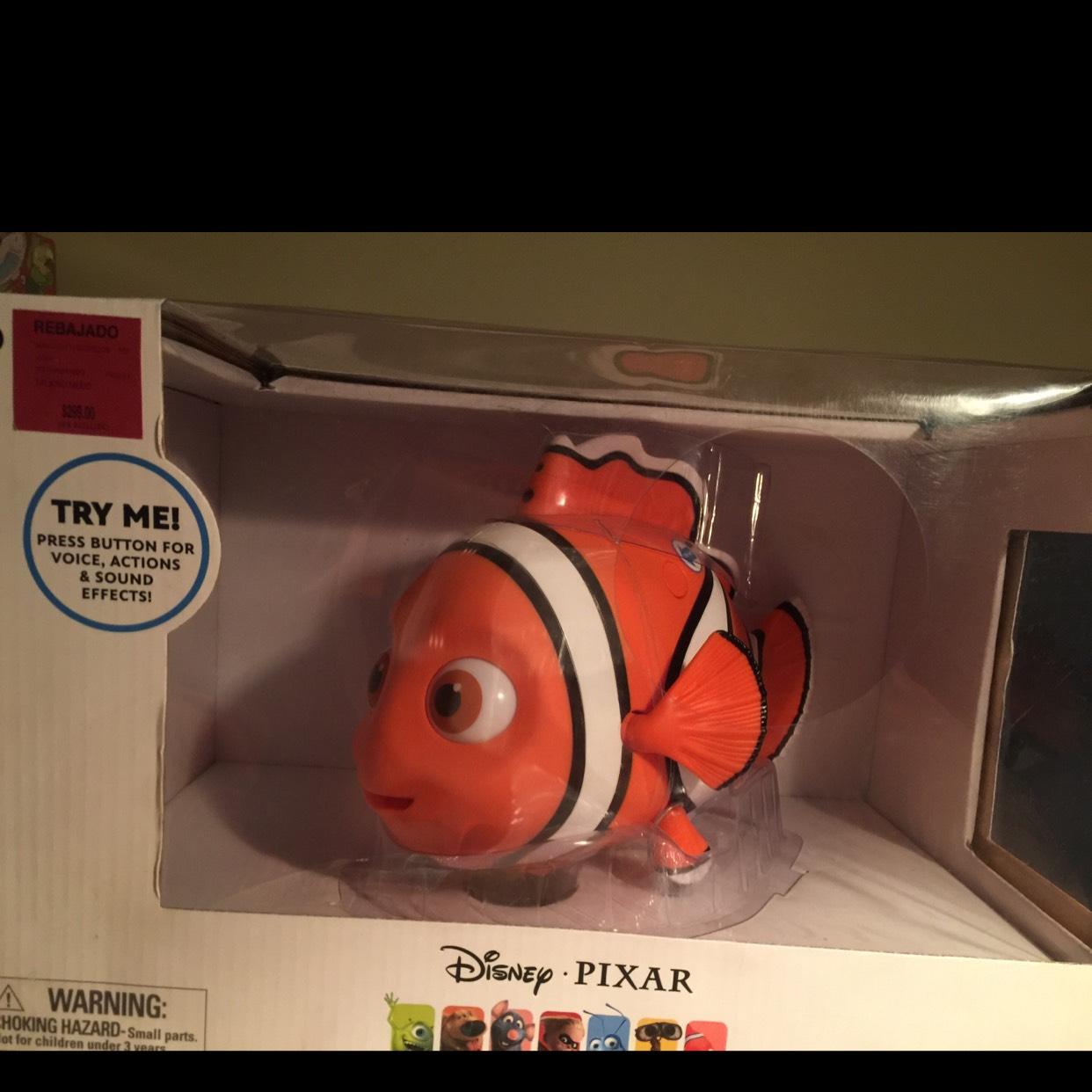 Palacio de Hierro: talking Nemo a $299