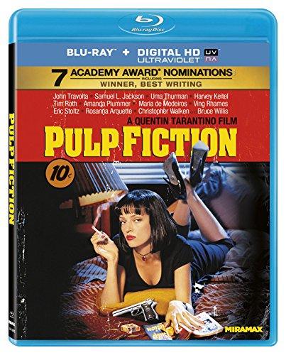 Amazon MX: Pulp Fiction Blu-ray + Versión Digital Importada