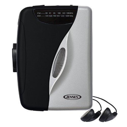 Amazon: Jensen SCR68B Reproductor de casete estéreo con radio AM/FM