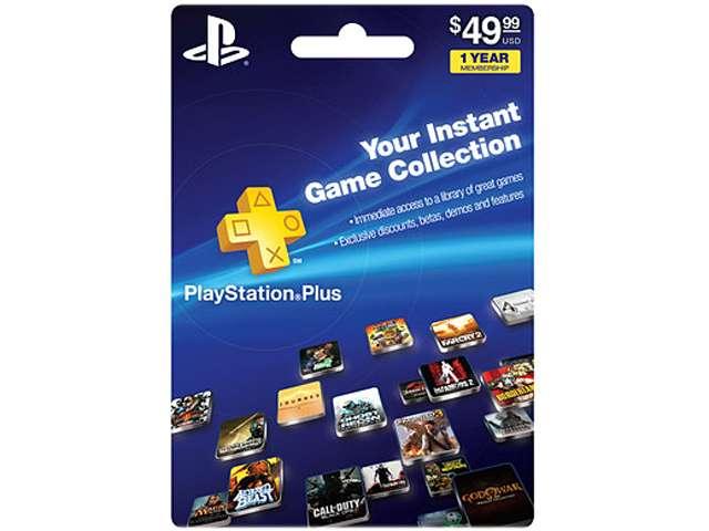 ebay: 1 año de PlayStation Plus $39.99 dólares