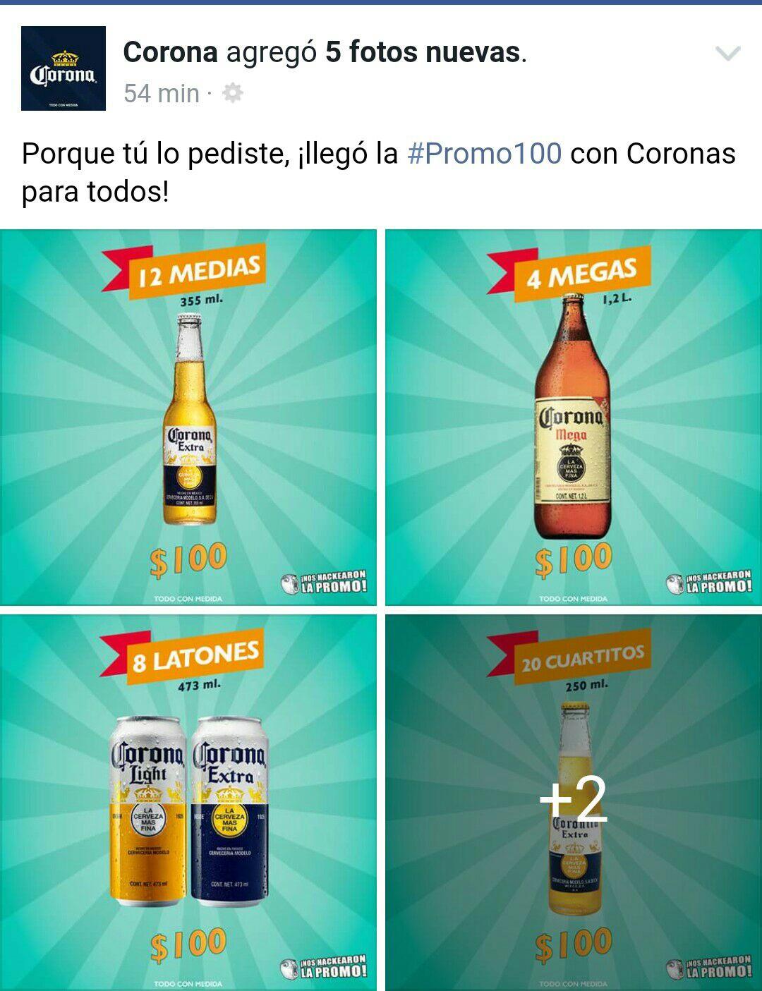 Modelorama: Promociones en cerveza de Grupo Modelo(Corona, Victoria,etc)