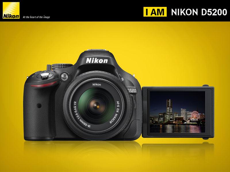 Ibushack: cámaras profesional Nikon D5200 $8,698