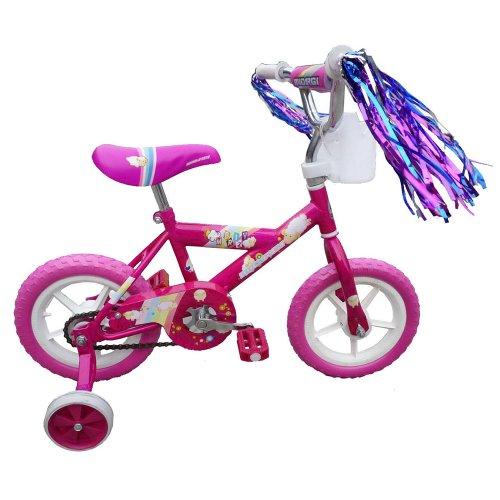 Amazon: Bicicleta Micargi MBR Cruiser Bike, Pink, 12-Inch precio normal $2,569 Descuento 72%