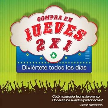 2x1 en Ticketmaster: Arjona, Juanes, Eurofest y más