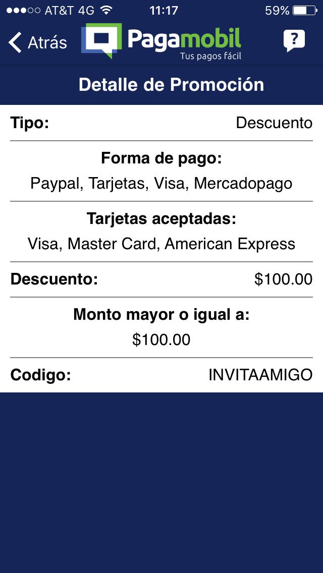 PAGAMOBIL: 100 de descuento en primer pago