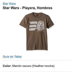 Amazon: Playera de Chewbacca (XL)