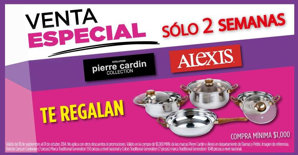 Venta especial Suburbia: batería de 7 piezas comprando ropa Pierre Cardin y Alexis y más