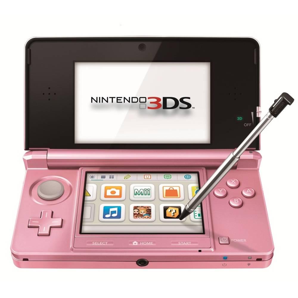 Walmart: Nintendo 3DS rosa $990
