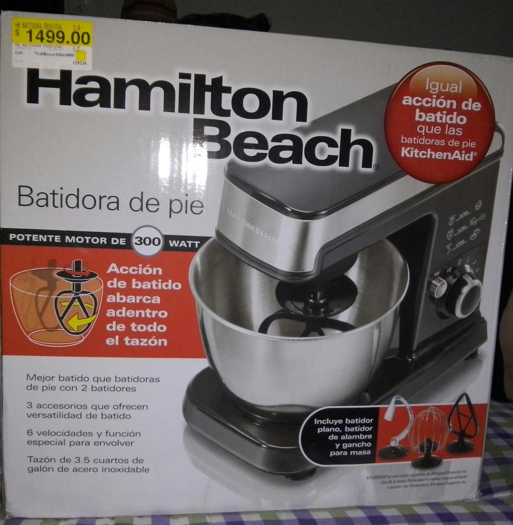 Walmart: Batidora Hamilton Beach a $1,039.02