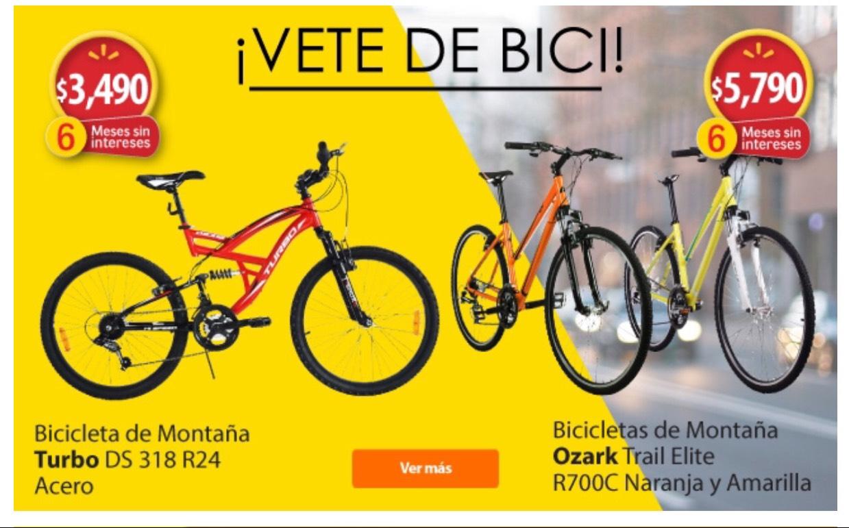Walmart: 2 Bicicletas de Montaña de aluminio Ozark Trail Elite R700C