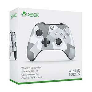 Amazon: Control inalámbrico pata Xbox One, Winter Forces con MasterCard