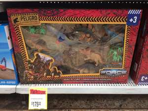 Bodega Aurrerá C. Izcalli: Set de dinosaurios Adventure Force a $175.02