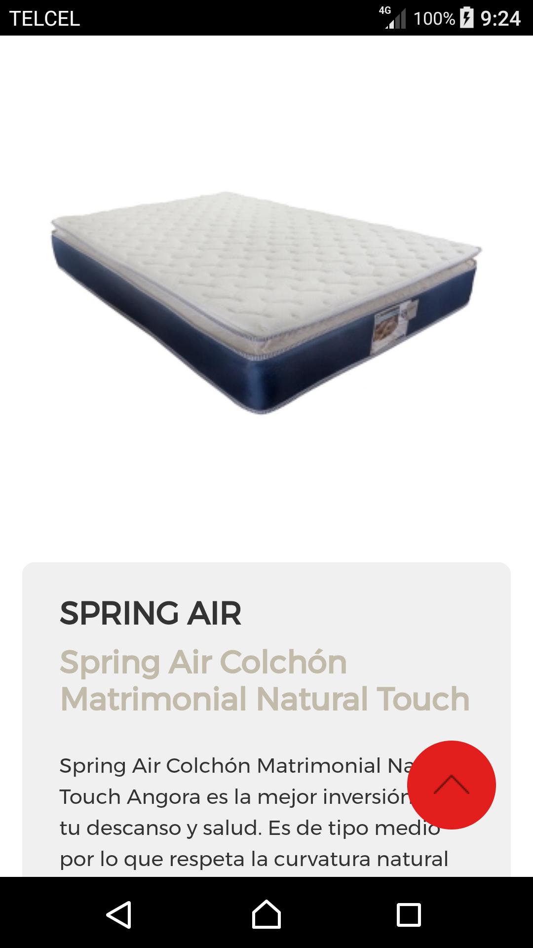 Elektra: colchón Spring Air de $6,499 a $2,499