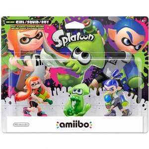 Linio: Amiibo Nintendo Splatoon Series 3 pack-Multicolor