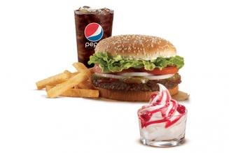 Burger King: gratis Sundae Jr. comprando un combo con Banamex