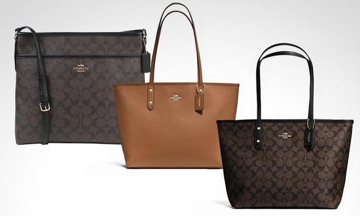 Groupon: Nuevos modelos Bolsa Coach Dama