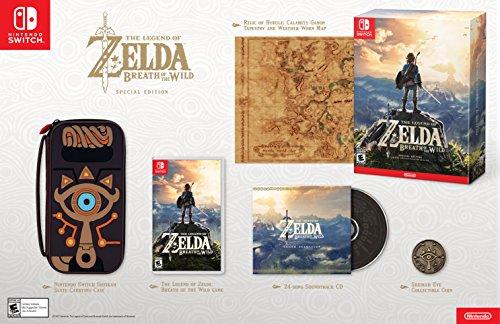 Amazon: The Legend Of Zelda Breath Of the Wild Special Edition (o menos con TC MasterCard)